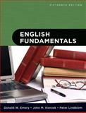 English Fundamentals, Emery, Donald W. and Kierzek, John M., 0205617816