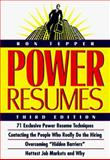 Power Resumes, Ronald Tepper, 0471247812