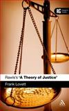 Rawls's 'A Theory of Justice', Lovett, Frank, 0826437818