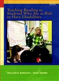 Teaching Reading to Students Who Are at Risk or Have Disabilities : A Multi-Tier Approach, Bursuck, William D. and Damer, Mary, 0137057814