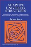 Adaptive University Structures 9781853027819