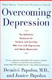 Overcoming Depression, Demitri Papolos, 0060927828