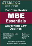 Sterling Bar Exam Review MBE Essentials, Sterling Prep, 1499597827