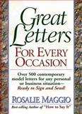 Consumer Letter Book, Rosalie Maggio, 0130827827