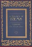 A Legacy of Poems, Vicki Grometer Jahns, 193319782X