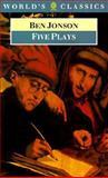 Five Plays, Ben Jonson, 0192817825