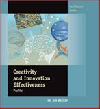 Creativity and Innovation Effectiveness Profile : Packet Of 5, Warner, Jon, 0874257824