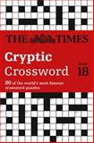 The Times Cryptic Crossword Book 18, Richard Browne, 0007517823
