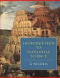 Introduction to Nonlinear Science, Nicolis, G., 0521467829