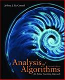 The Analysis of Algorithms : An Active Learning Approach, McConnell, Jeffrey J., 0763707821