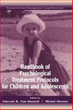 Handbook of Psychological Treatment Protocols for Children and Adolescents, , 0805817824