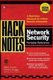 HackNotes Network Security Portable Reference, Horton, Michael and Mugge, Clinton, 0072227834