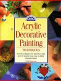 Acrylic Decorative Painting Techniques, Sybil Edwards, 0891347836