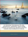 La Manière Vniverselle de Mr Desargves, Lyonnois, Gérard Desargues, 1141477831