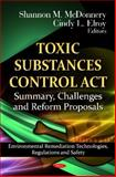 Toxic Substances Control ACT, Shannon M. McDonnery and Cindy L. Elroy, 1621007839