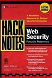 HackNotes Web Security Pocket Reference, Shema, Mike, 0072227842