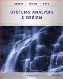 Systems Analysis and Design 6th Edition