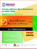 Culture Politique de la démocratie en Haiti : 2006, Zéphyr, Dominique and Pierre, Yve-Francois, 0979217849