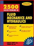 2,500 Solved Problems in Fluid Mechanics and Hydraulics, Evett, Jack B. and Liu, Cheng, 0070197849
