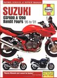 Suzuki GSF600 and 1200 Bandit Fours Service and Repair Manual, Coombs, Matthew and Mather, Phil, 1859607845