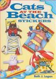 Cats at the Beach Stickers, Beth J. Logan, 0486467848