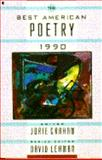 The Best American Poetry, 1990, Lehman, 0020327854