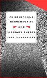 Philosophical Hermenutics and Literary Theory 9780300047851
