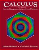 Calculus for the Management, Life, and Social Sciences, Kolman, Bernard and Denlinger, Charles G., 0155057855