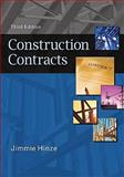 Construction Contracts, Hinze, Jimmie, 0073397857