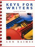 Keys for Writers, Raimes, Ann, 0618437851
