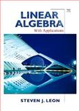 Linear Algebra With Applications, Leon, Steven J., 0131857851