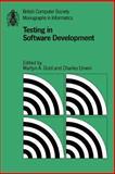Testing in Software Development, , 0521337860