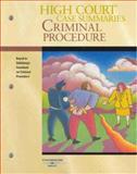 High Court Case Summaries on Criminal Procedure, Thomson West, 0314187871