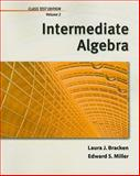 Intermediate Algebra, Volume 2, Chapters 6-8, Bracken, Laura and Miller, Ed, 1111987874