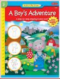 Watch Me Draw A Boy's Adventure, Jenna Winterberg, 156010788X