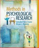 Methods in Psychological Research, Evans, Annabel Ness and Rooney, Bryan J., 1412977886