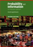 Probability and Information : An Integrated Approach, Applebaum, David, 052172788X