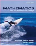 Mathematics and the Currents of Change, Meyer, Rochelle Wilson and Meyer, Walter, 0536357889