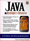 Java Developers Resource, Harold, Elliotte R., 0135707897