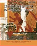 Documents in World History Vol. 1 : The Great Traditions: from Ancient Times to 1500, Stearns, Peter and Gosch, Stephen S., 0205617891