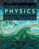 Fundamentals of Physics, Halliday, David and Resnick, Robert, 0470547898