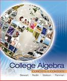 College Algebra : Concepts and Contexts, Stewart, James and Redlin, Lothar, 0495387894