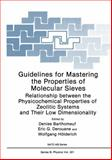 Guidelines for Mastering the Properties of Molecular Sieves : Relationship Between the Physicochemical Properties of Zeolitic Systems and Their Low Dimensionality, , 1468457896