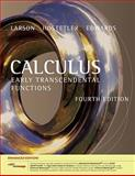Calculus : Early Transcendental Functions, Enhanced Edition (with Enhanced WebAssign 1-Semester Printed Access Card), Larson, Ron and Hostetler, Robert P., 1439047898