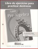 Pre-Algebra Libro de Ejercicios para Practicar Destrezas, McGraw-Hill, 0078277906