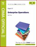 CIMA Learning System Enterprise Operations, Perry, Bob, 1856177904