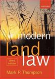 Modern Land Law, Thompson, Mark P., 0199277907