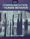 Communication and Human Behavior, Ruben, Brent D. and Stewart, Lea P., 0205417906