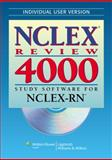 NCLEX Review 4000 : Study Software for NCLEX-RN, , 0781777909