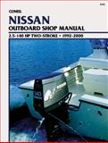 Nissan Outboard - 2.5-140 Hp Two-Stroke, 1992-2000, Clymer Publications Staff and Penton Staff, 0892877901
